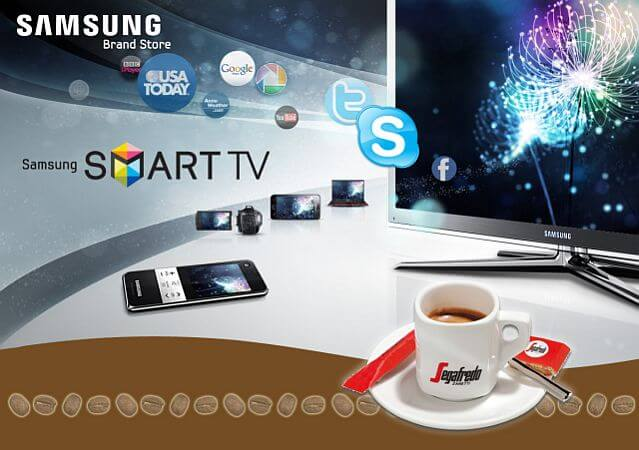 samsung segafredo smart tv