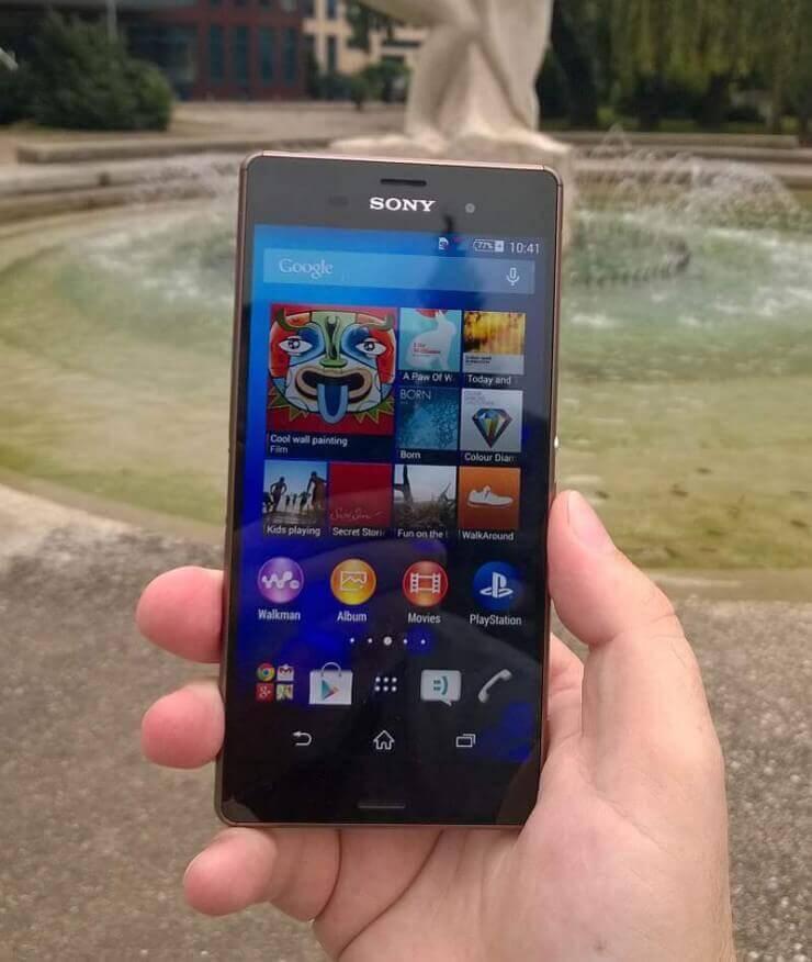Sony Xperia Z3 recenzija 5