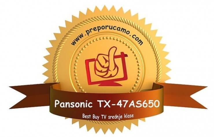 nagrada Panasonic TX-47AS650E copy