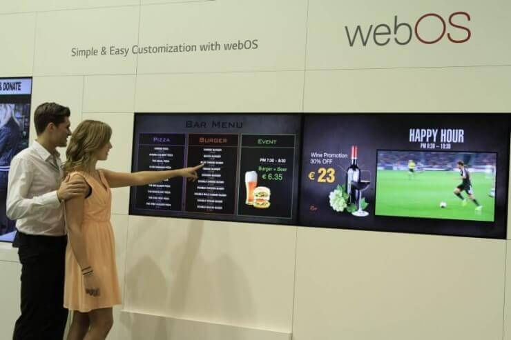 LG Smart Platform Signage with webOS 01_ISE 2015