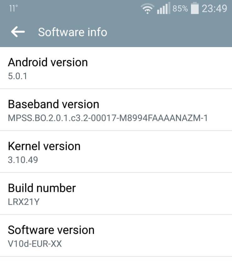 LG G Flex 2 update 2
