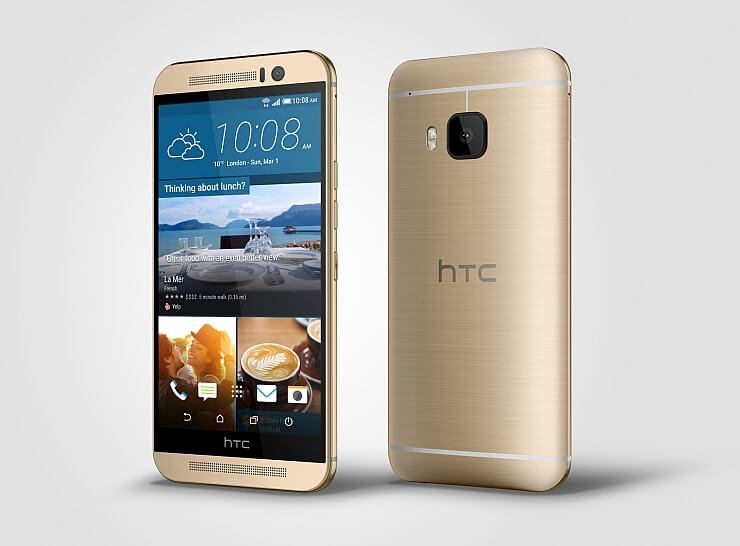 HTC-One-M9_Gold_Left