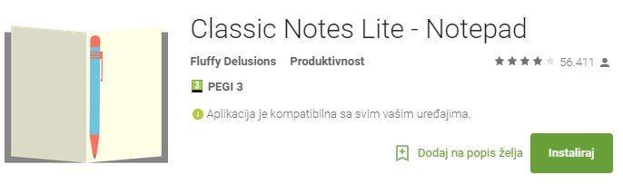 Classic Notes 1
