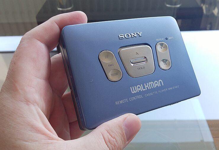 Sony Walkman WM-EX612 3