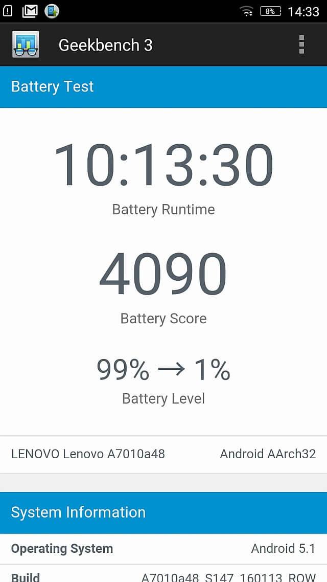 Lenovo Vibe X3 Lite benchmark 8